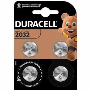 Duracell Düğme Pil 2032 4'lü