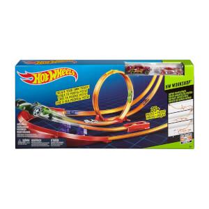 Hot Wheels Yüksek Atlayış Yarış Seti Y0276