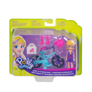 Polly Pocket ve Bisikleti Oyun Seti GFP93