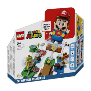 LEGO Super Mario Mario ile Maceraya Başlangıç Seti 71360
