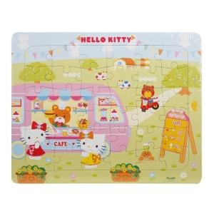 36 Parça Puzzle : Hello Kitty Cafe