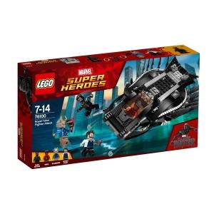 LEGO Marvel Super Heroes Kraliyet Pençe Savaşçı Saldırısı 76100