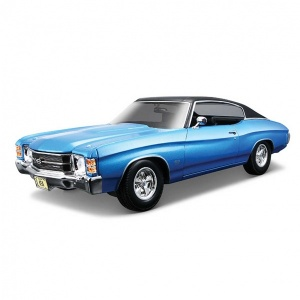1:18 Maisto 1971 Chevrolet Chevelle SS 454 Model Araba