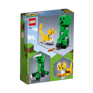 LEGO Minecraft BigFig Creeper ve Oselo 21156