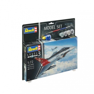 Revell 1:72 Eurofighter Typh Model Set Uçak 63952