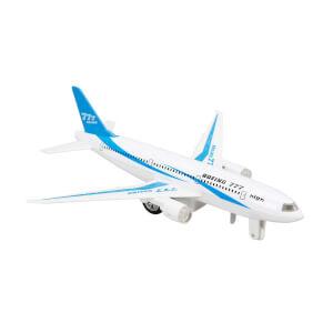 Maxx Wheels Sesli ve Işıklı Model Yolcu Uçak 18 cm.