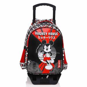 Mickey Çekçekli Okul Çantası 5187