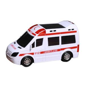 Işıklı ve Sesli Ambulans 21 cm.