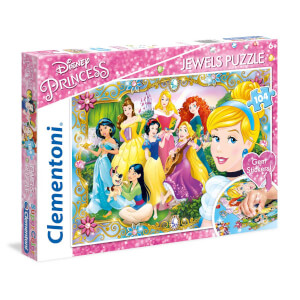 104 Parça Puzzle :  Disney Princess Jewels