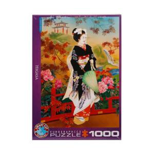 1000 Parça Puzzle : Higasa - Haruyo Morita