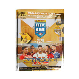 FIFA 365 2020 Adrenalyn Mega Başlangıç Paketi