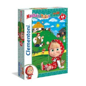 24 Parça Maxi Puzzle : Masha and the Bear 2