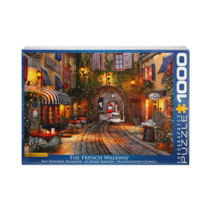 1000 Parça Puzzle : The French Walkway - Dominic Davidson