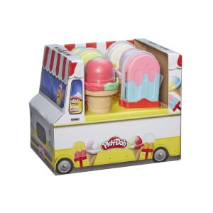 Play Doh Çubukta ve Külahta Dondurma Eğlencesi Oyun Hamur Seti E5332