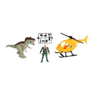 Sesli ve Işıklı Dino Valley Helikopter Oyun Seti