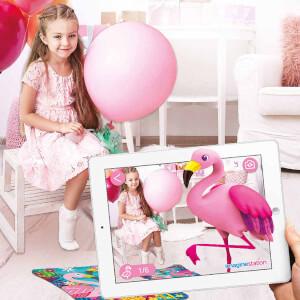 AR Floor Puzzles Flamingo Arttırılmış Gerçeklik Puzzle