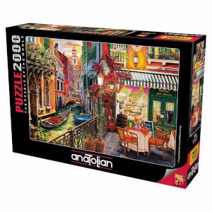 2000 Parça Puzzle : Venedik Cafe