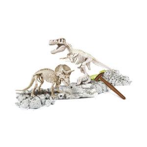 Arkeolog Oluyorum - T-Rex ve Triceratops