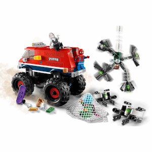 LEGO Marvel Super Heroes Örümcek Adam'ın Canavar Kamyonu Mysterio'ya Karşı 76174