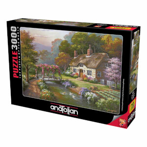 3000 Parça Puzzle : Güllü Konak