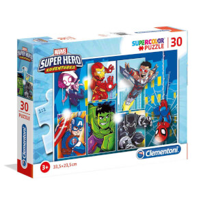 30 Parça Puzzle : Marvel Super Hero Adventures