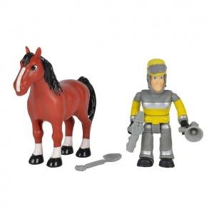 İtfaiyeci Sam Hayvan Kurtarma Figürlü Set (Sam-Horse)