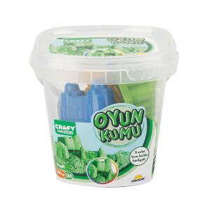 Crafy Oyun Kumu Seti Yeşil 350 gr.