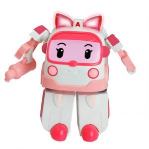 Robocar Poli Işıklı Dönüşen Figür Amber