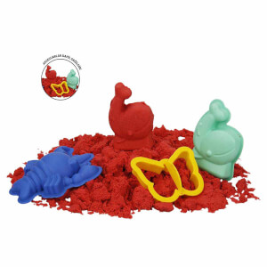 Fun Dough Kinetik Kum 1000 gr. Kırmızı