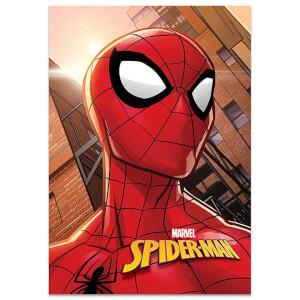 Spiderman Kareli Defter A4 40 Yaprak