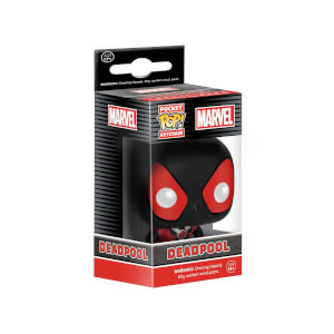 Funko Pop Marvel : Black Deadpool Anahtarlık