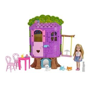 Barbie Chelsea'nin Ağaç Evi FPF83
