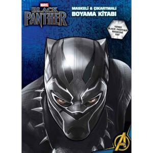 Marvel Black Panther Maskeli ve Çıkartmalı Boyama Kitabı