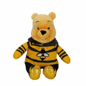 Winnie The Pooh Arı Kıyafetli Peluş 30 cm.