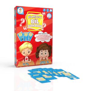 Bil Bakalım Eğitici Eğlenceli Oyun Kartları 32 Parça