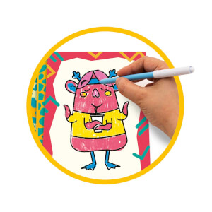 Clementoni Play Creative Canavar Çizimler