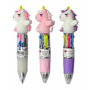 Unick Color Unicorn Tükenmez Kalem 4 Renk 4125