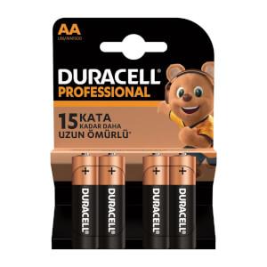 Duracell Professional Kalem Pil AA 4'lü