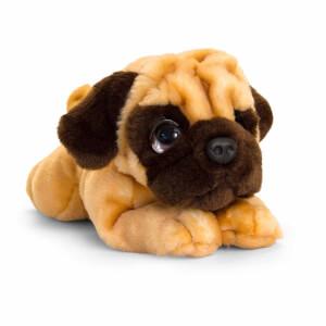 Pug Köpek Peluş 25 cm.