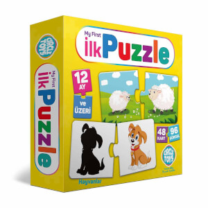 Circle Toys My First Puzzle 48 Parça