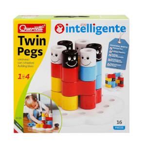 Quercetti Twin Pegs Bultak 16 Parça