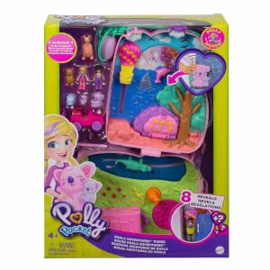 Polly Pocket Çanta Olabilen Micro Oyun Setleri GKJ63