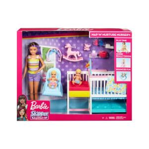 Barbie Bebek Bakıcısı Skipper Uyku Eğitiminde Oyun Seti GFL38