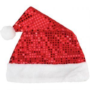 Yılbaşı Noel Baba Pullu Şapka