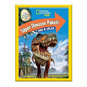 National Geographic Kids Süper Dinozor Paketi Oku ve Eğlen