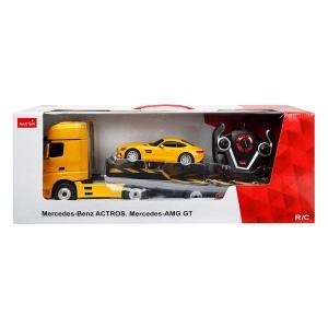 1:26 Mercedes-Benz Actors ve Mercedes-AMG GT Uzaktan Kumandalı Işıklı Araba