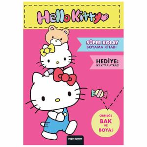 Hello Kitty Süper Kolay Boyama