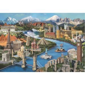 2000 Parça Puzzle : Simge Yerler