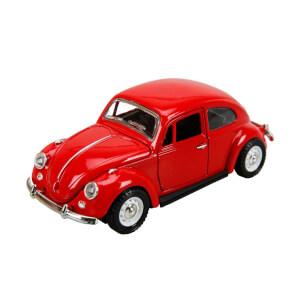 Sesli ve Işıklı Çek-Bırak Beetle Araba 12 cm.