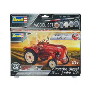 Revell 1:24 Porsche Diesel Junior 108 Model Set Traktör 7820